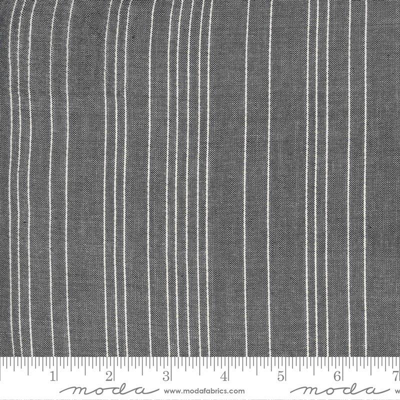 Low Volume Woven - Sashiko Stripe Silver