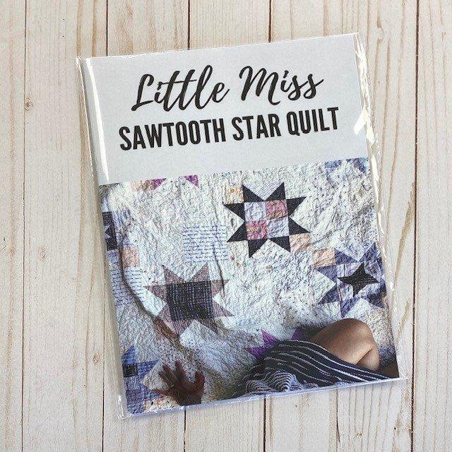 Little Miss Sawtooth Star Quilt Pattern