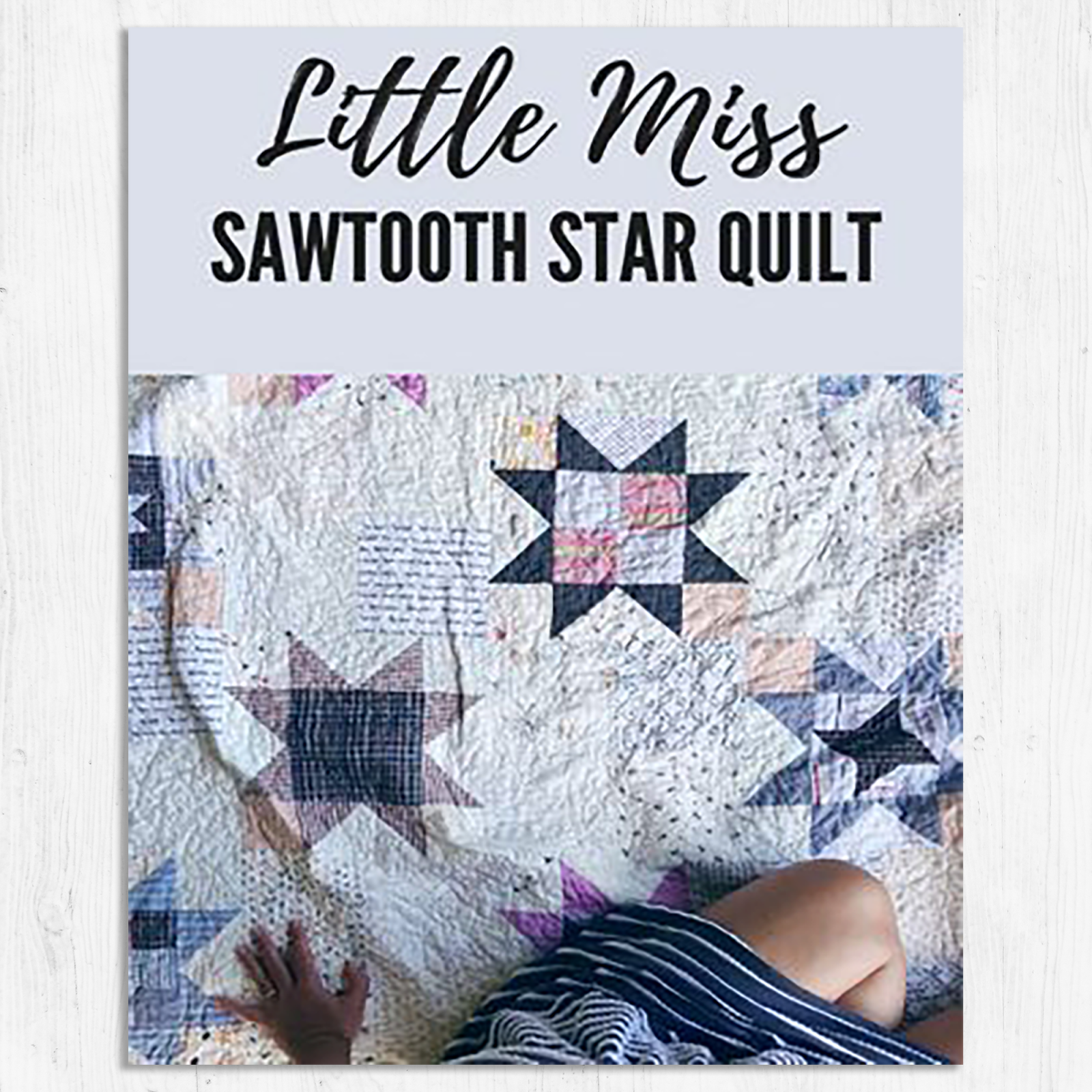 Southern Charm Quilts - Little Miss Sawtooth Quilt