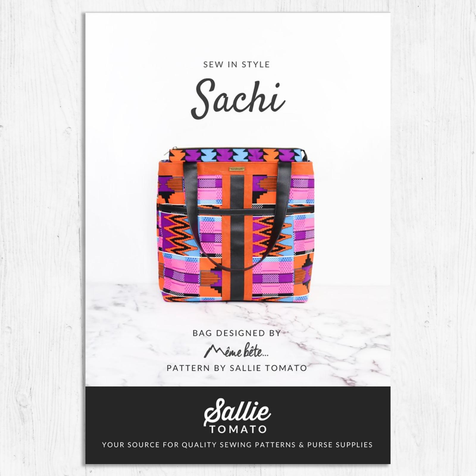 Sallie Tomato- Sachi Tote Pattern