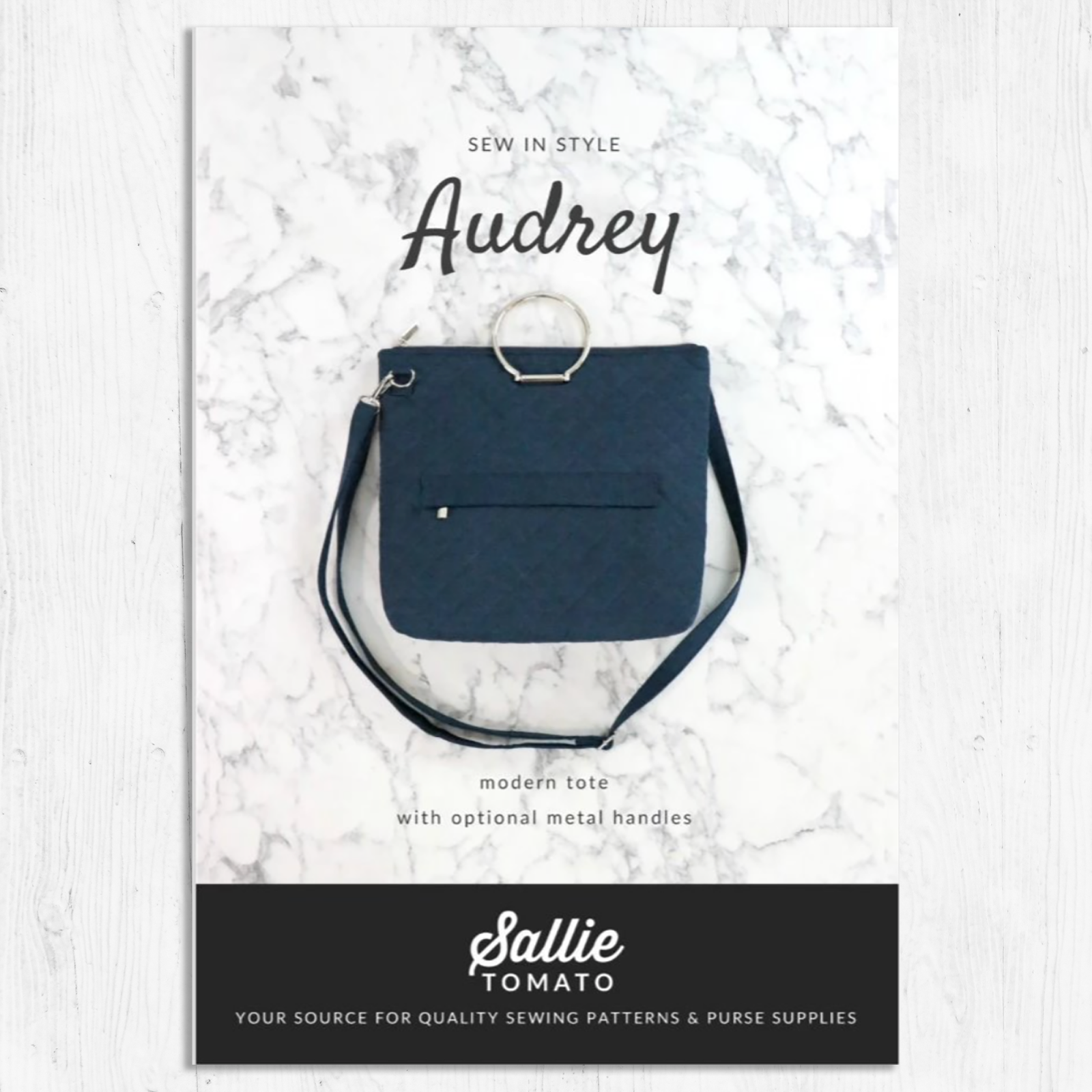 Sallie Tomato - Audrey Bag Pattern