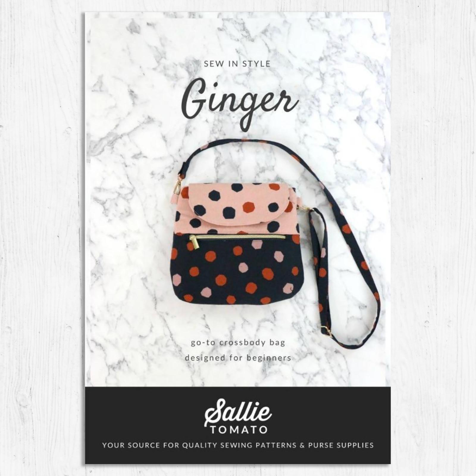 Sallie Tomato - Ginger Bag Pattern