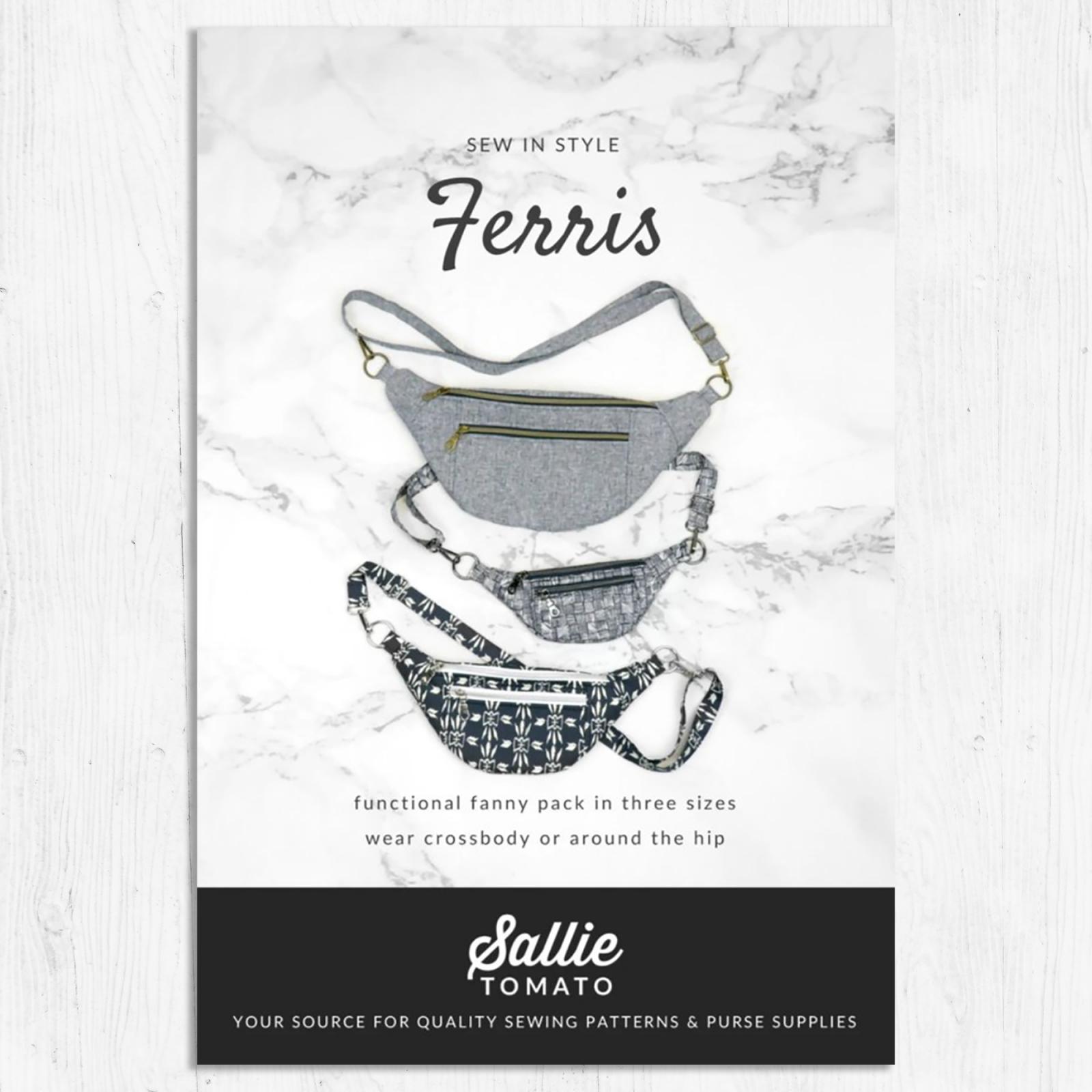 Sallie Tomato - Ferris Bag Pattern