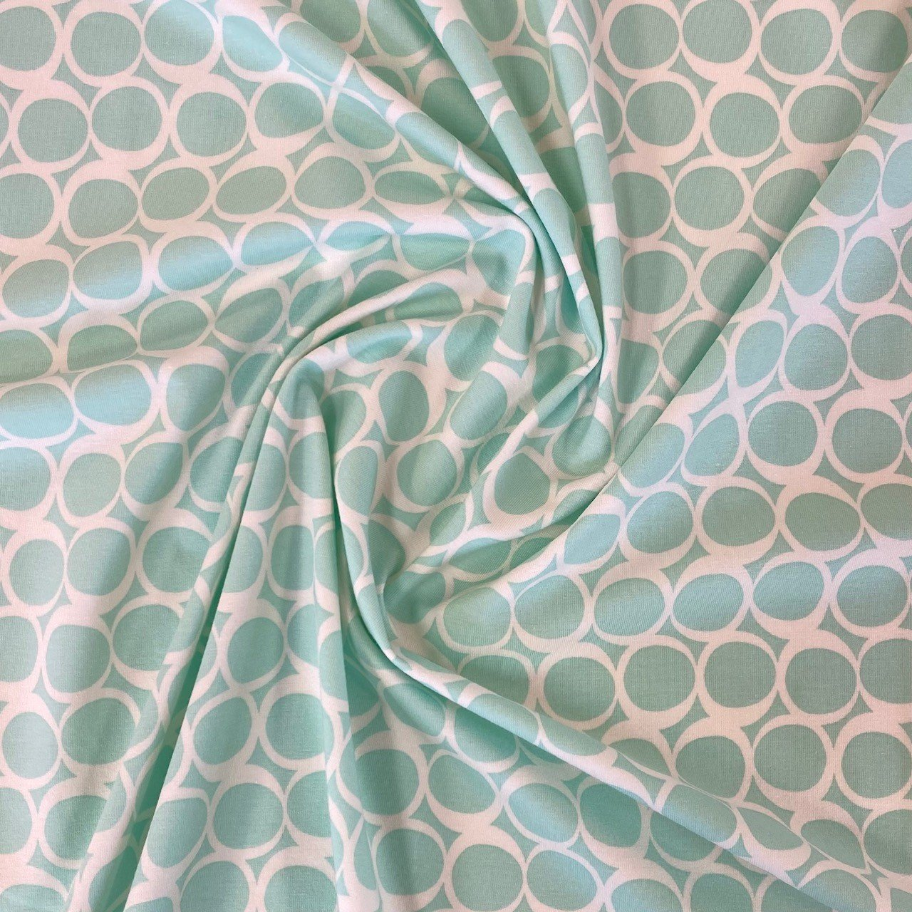 Seafoam Swirls Knit
