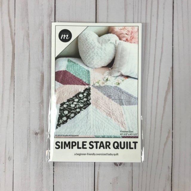 Studio M Squared - Simple Star Quilt