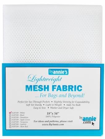 Lightweight Fabric Mesh - White