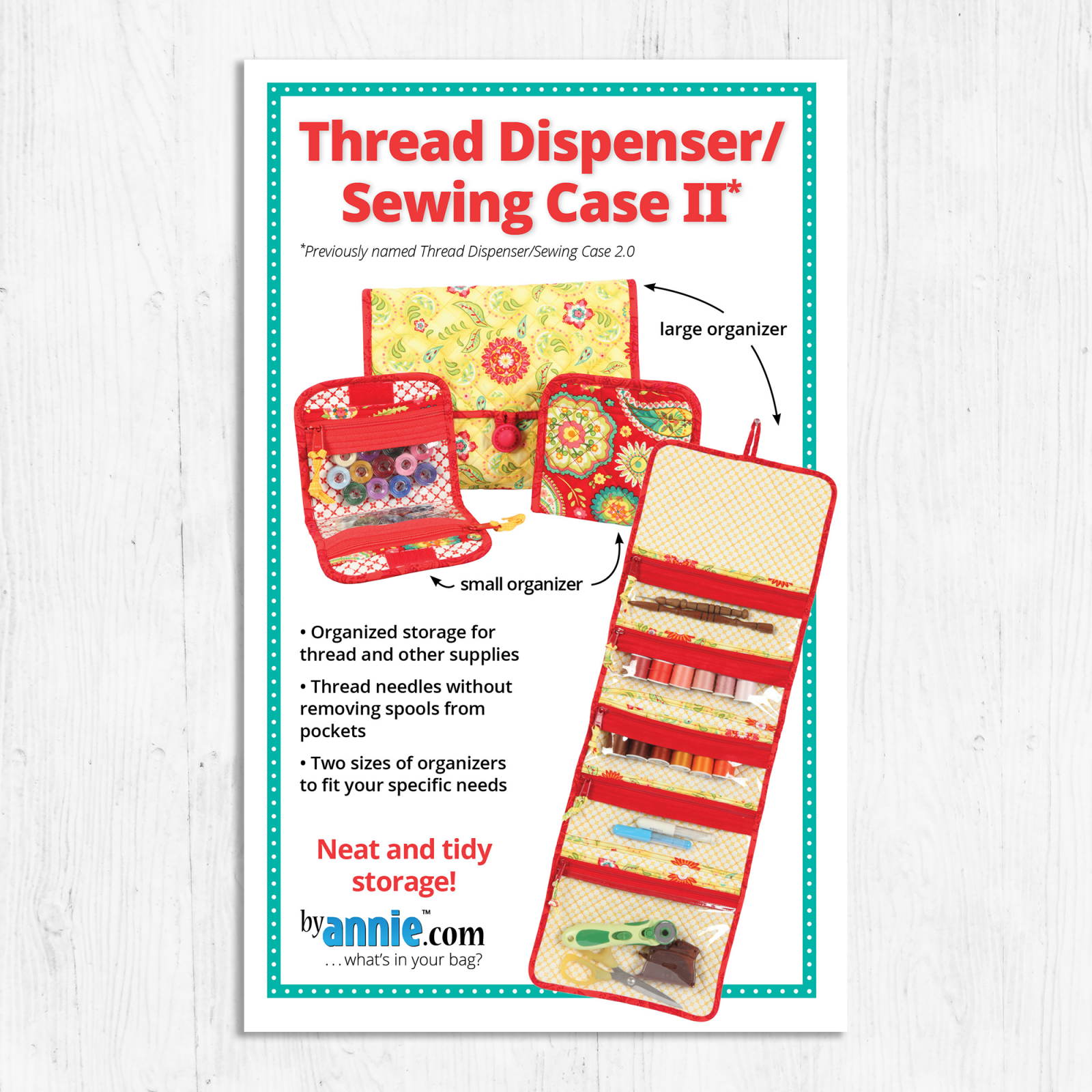 By Annies - Thread Dispenser / Sewing Case Pattern