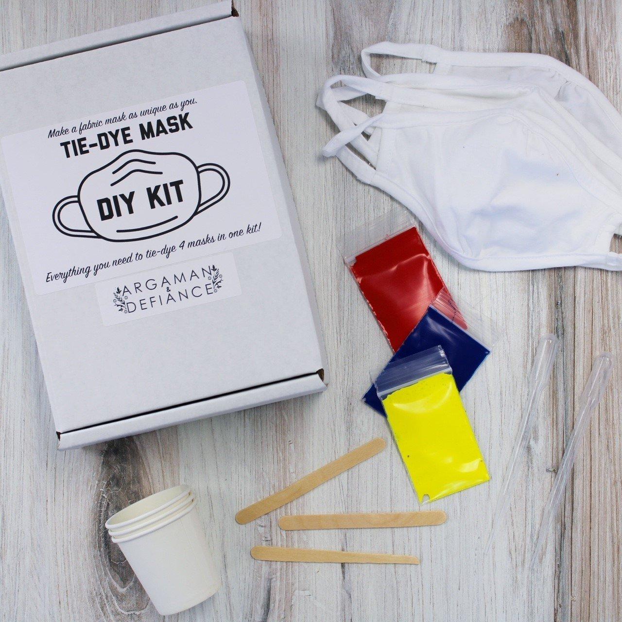 Kids' Tie-Dye Mask Kit