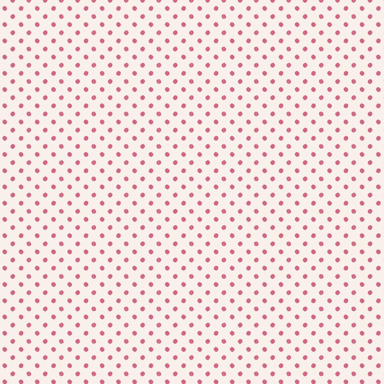 Tilda Basics - Tiny Dots Pink