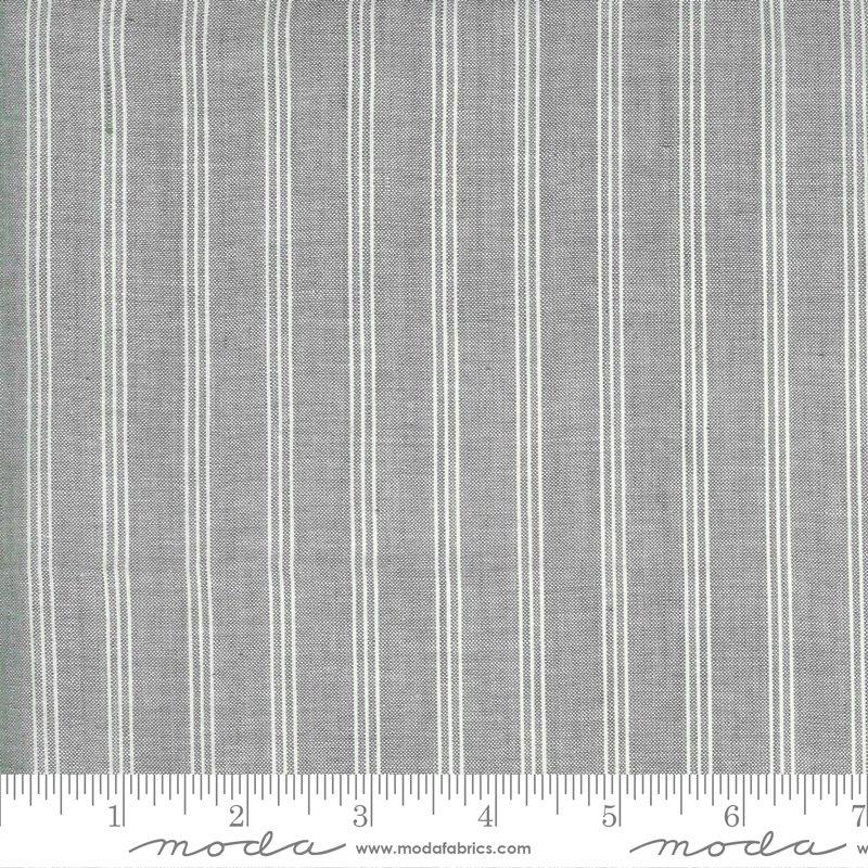 Low Volume Wovens - Triple Stripe Silver