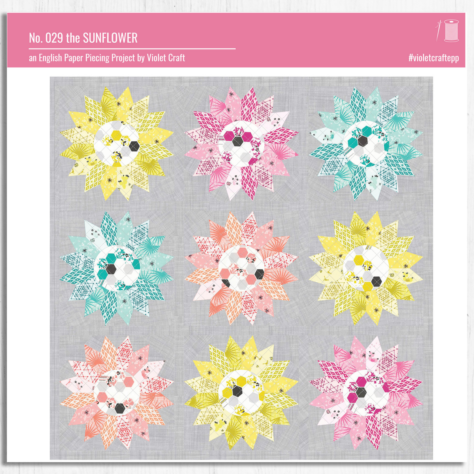 Violet Craft - The Sunflower Epp