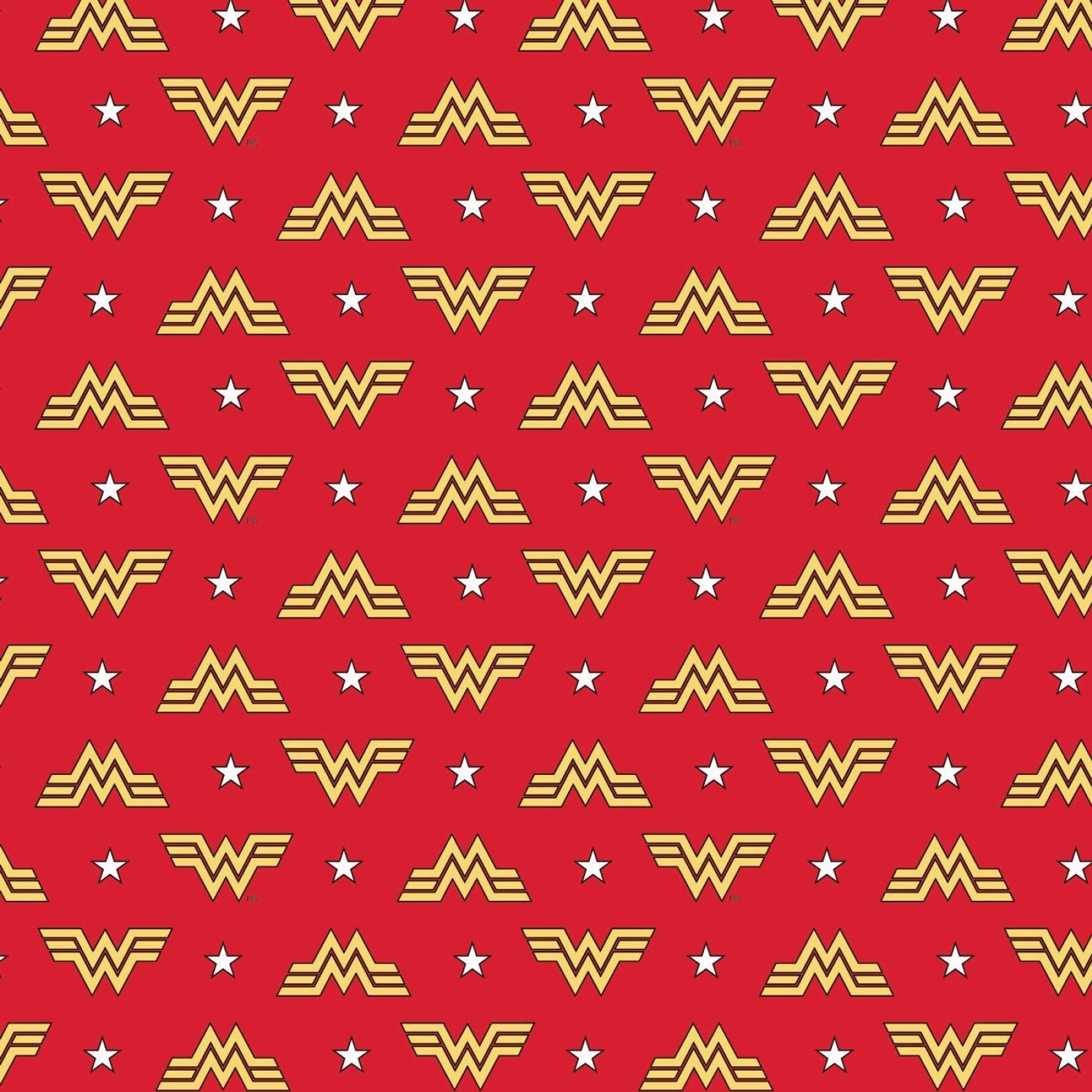 Wonder Woman Logo + Stars