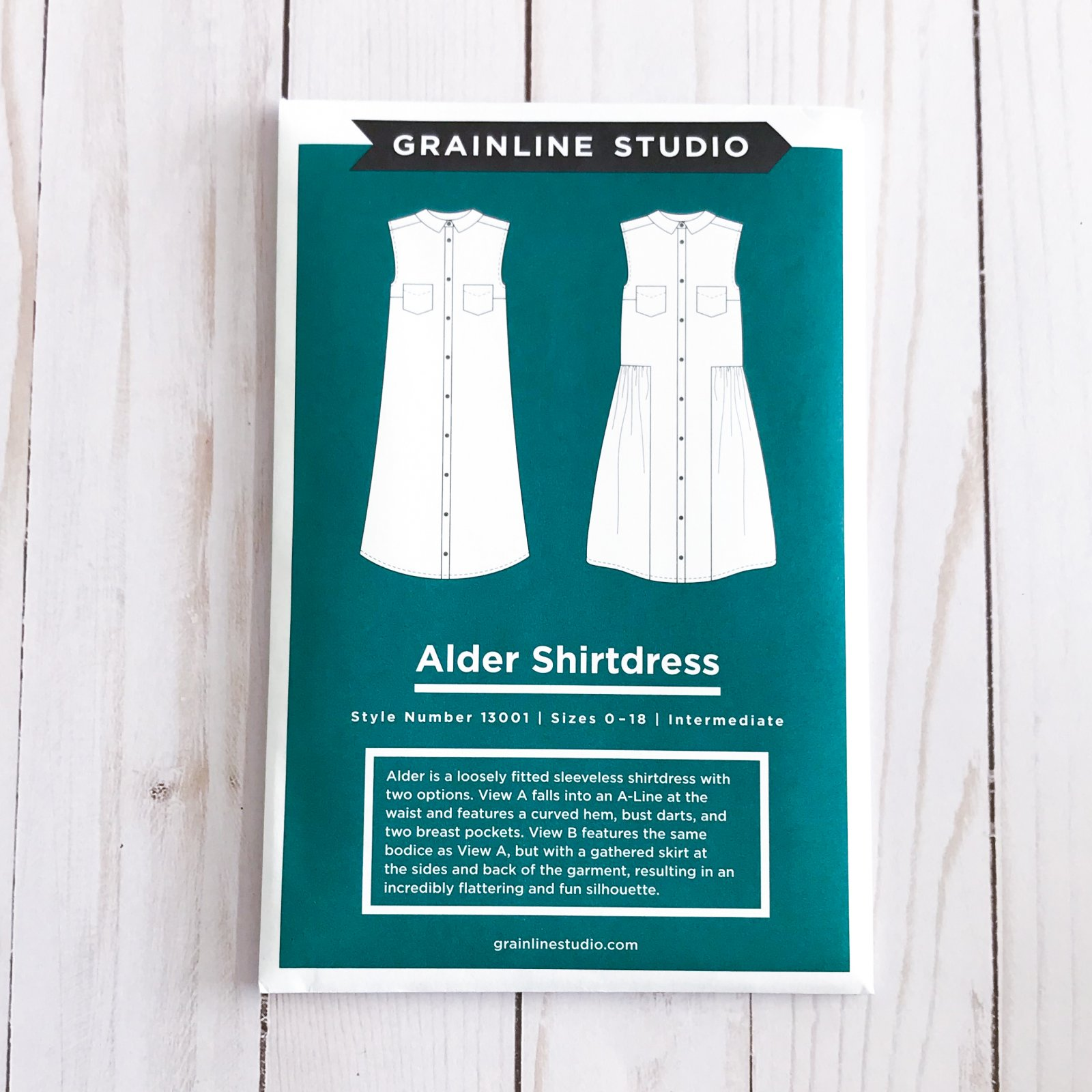 Grainline Studios - Alder Shirtdress