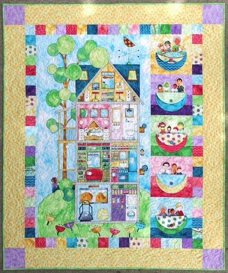 Home for You and Me fabric