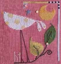 The Flock: Yellow Polka Dot Bird