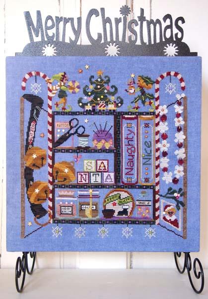 Santa's Cabinet: Under the Mistletoe