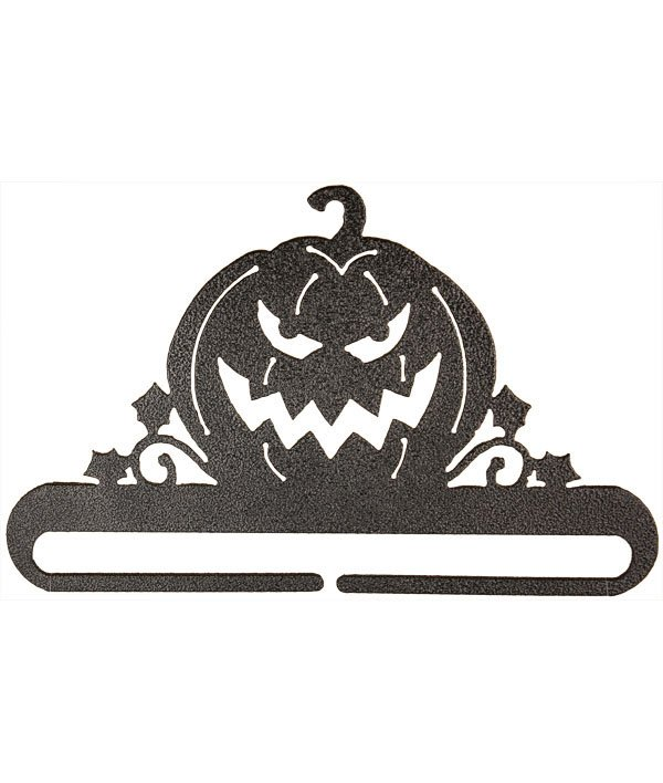 4 Jack O Lantern Charcoal split-bottom hanger