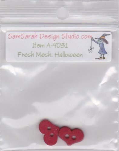 Packet: Fresh Mesh Halloween Tote