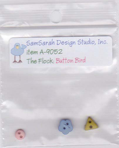 Packet: The Flock Button Bird