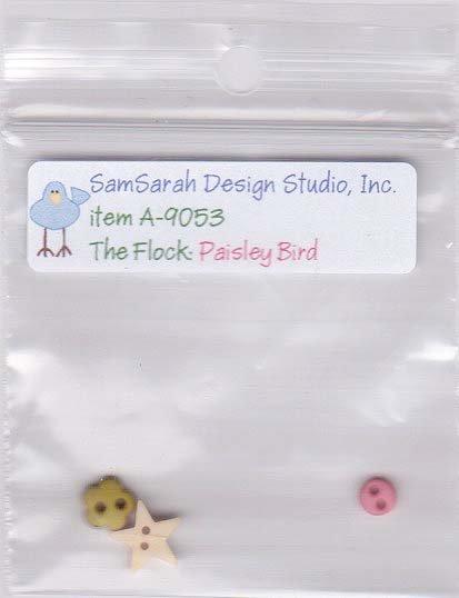 Packet: The Flock Paisley Bird