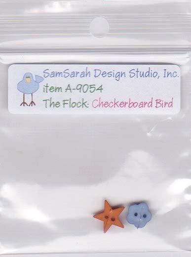 Packet: The Flock Checkerboard Bird