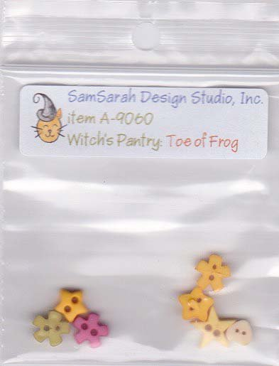 Packet: Witch's Pantry Toe of Frog