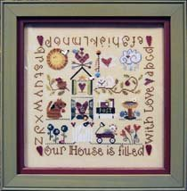 Our House Complimentary Border Chart