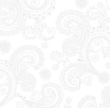 Wide Back - AVALON DECORATIVE FILIGREE - White