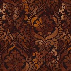Fiorenza -Digital 108'' - Chocolate Damask 3 yards