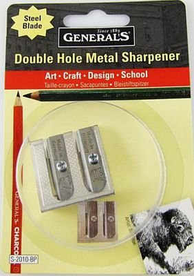 Double Sharpner for chalk pencils