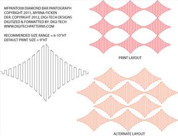 Pantograph Diamond Bar