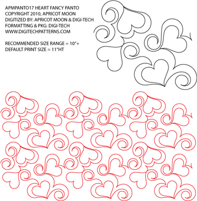 Pantograph Heart Fancy