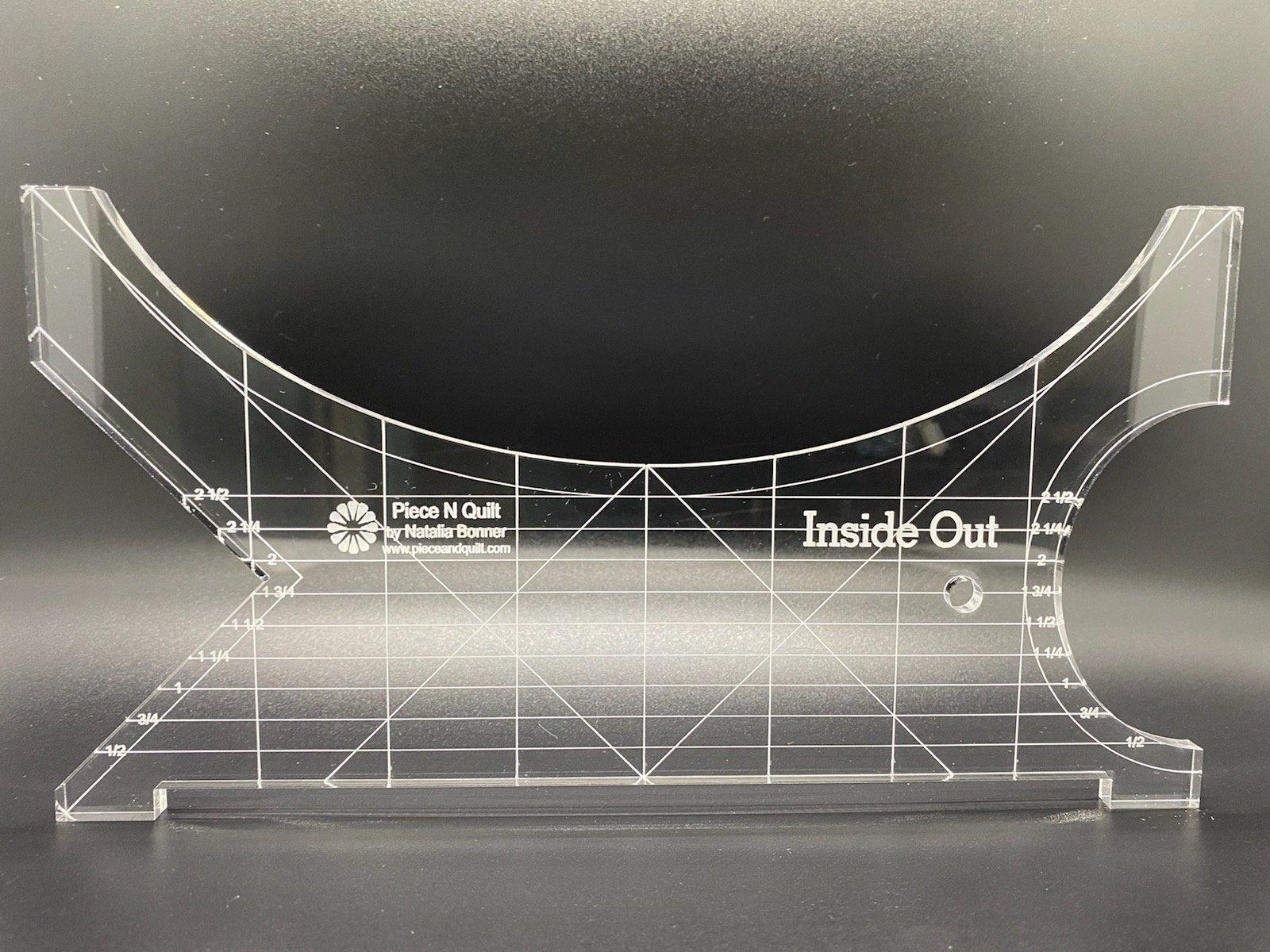 Inside Out Machine Quilting Ruler - Mini