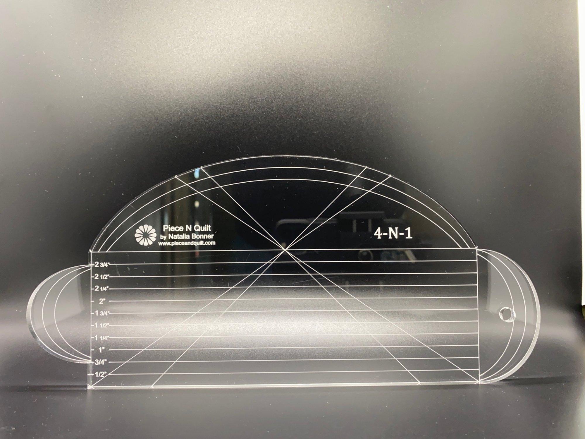 Machine Quilting Ruler - Bundle - 5 Rulers