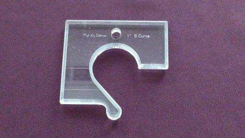 Terylloy Ruler - 1 S Curve