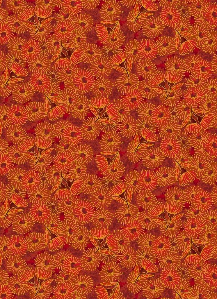 UNDER THE AUSTRALIAN SUN flowering gum red