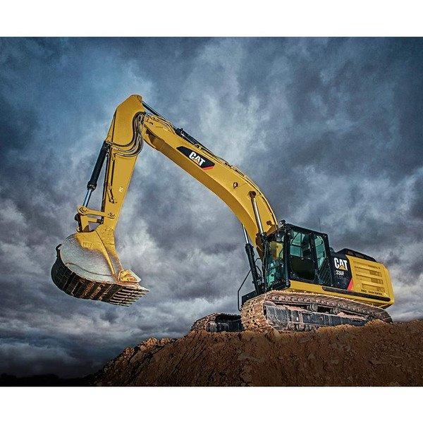 CAT Excavator Panel