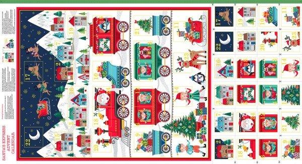 Advent Calendar Santa Express