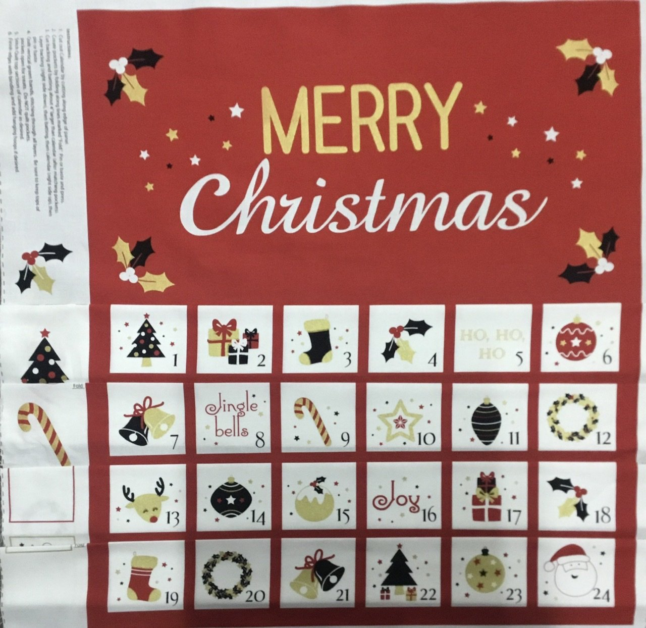 Advent Calendar Merry Christmas