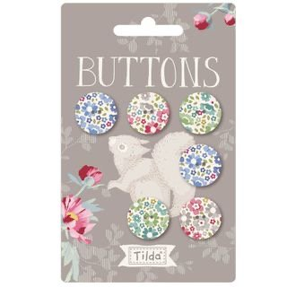 Tilda woodland buttons 18mm