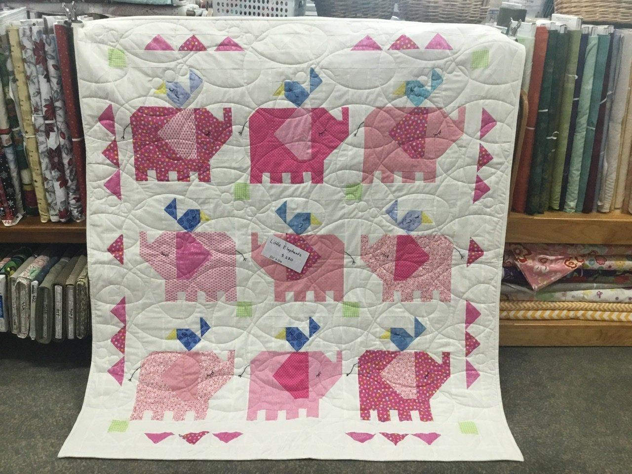 Little Elephants quilt