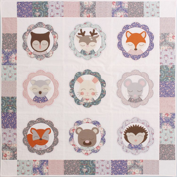 Forest Family quilt