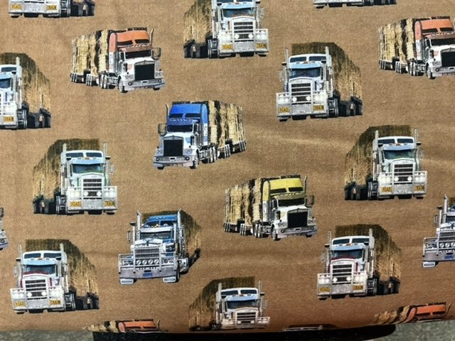 Drought Relief convoy Road Trains allover