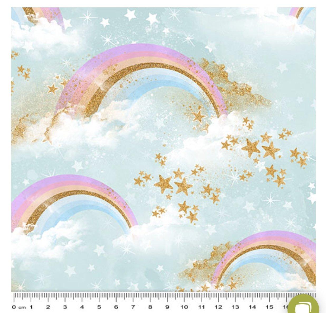 Rainbow Unicorn clouds