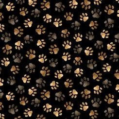 Labrador dogs paws 27289 black