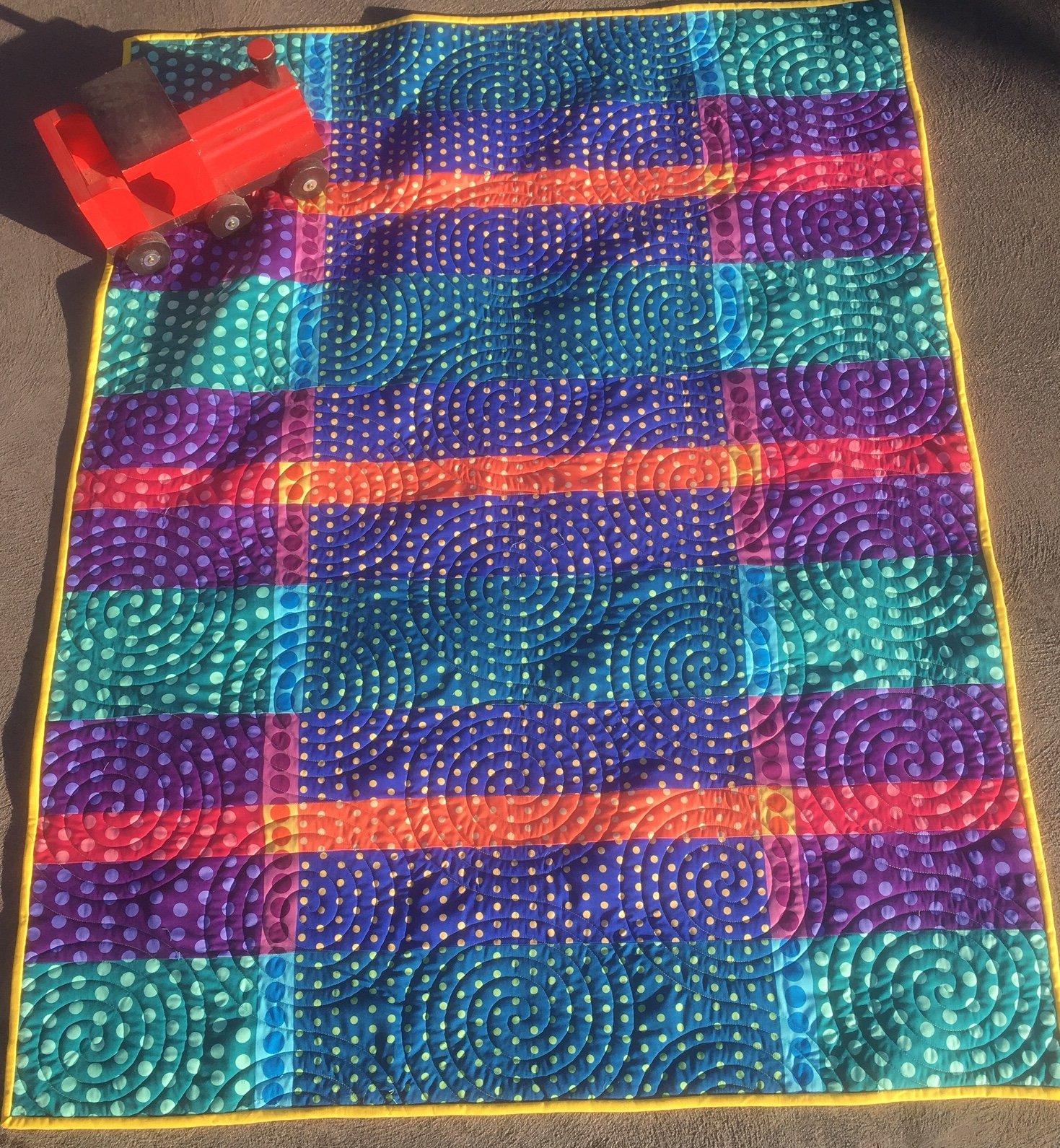 Crazy Dottie quilt kit