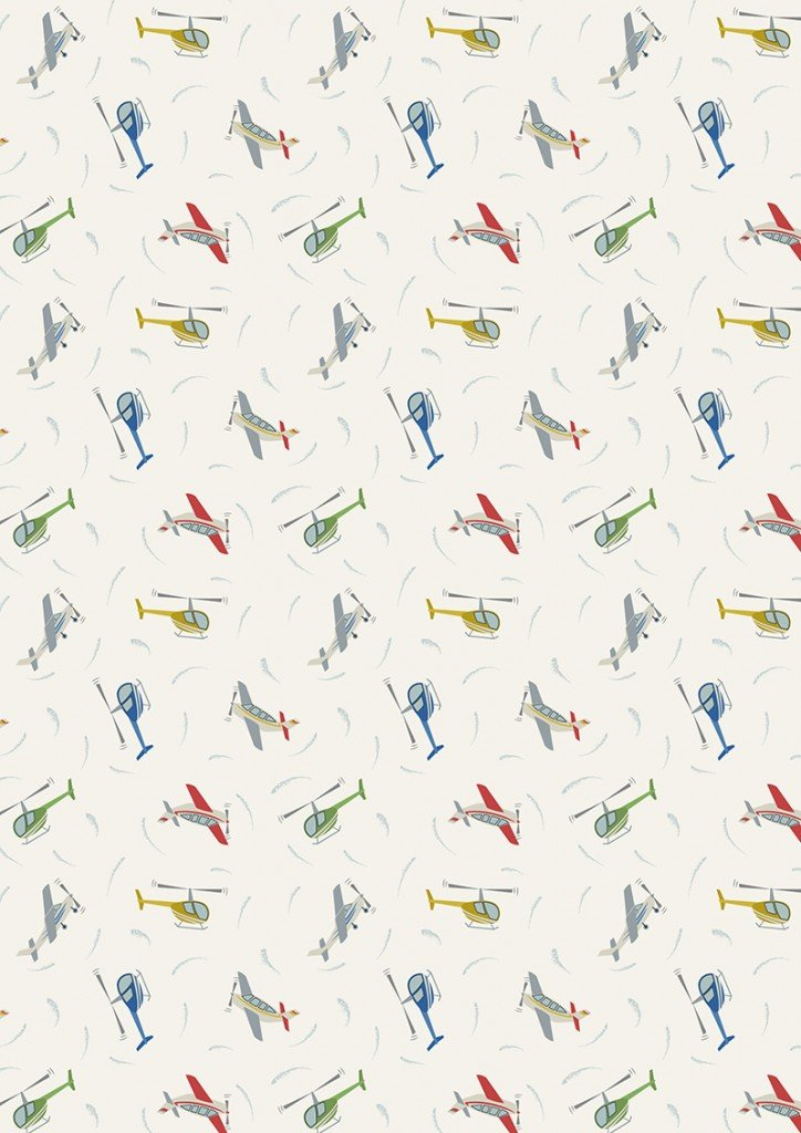 Small Things on the Move 31 Planes on Cream