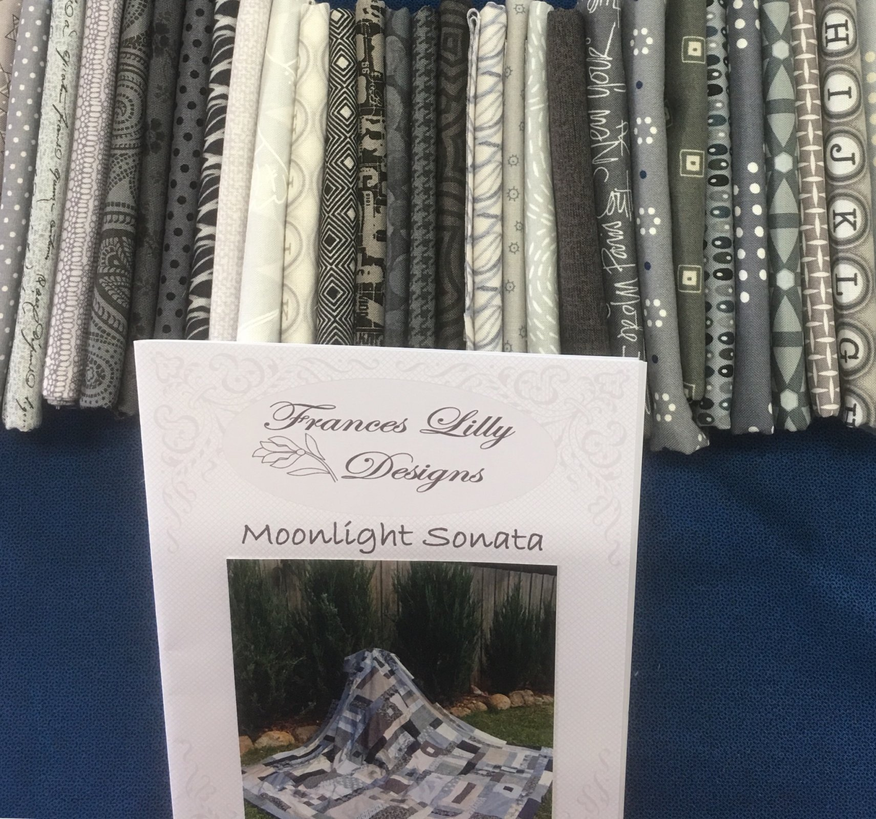 Moonlight Sonata quilt  fabric kit