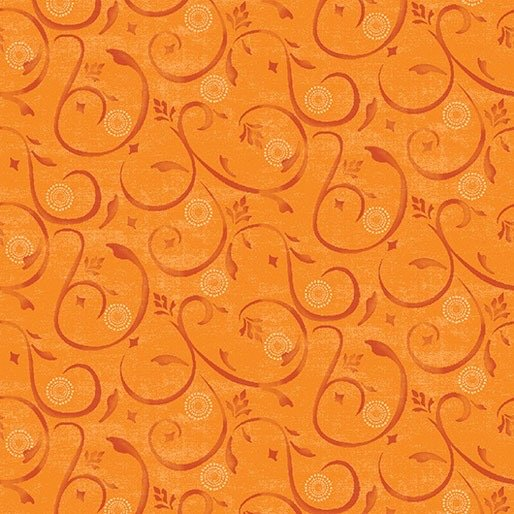 Awesome Owls Happy swirl orange