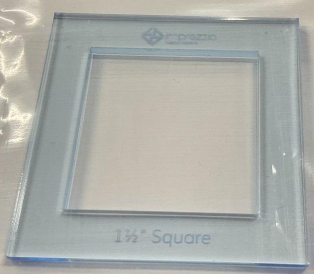Imprezzio EPP 1 1/2 inch square I Spy template